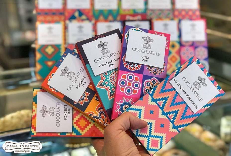 Ciucculatelle -il marchio napoletano della cioccolata di qualità