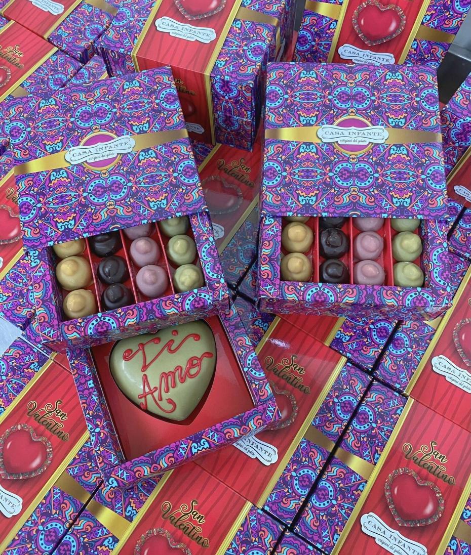 San Valentino in Casa Infante: Special Box Cuore e Bacio 😍