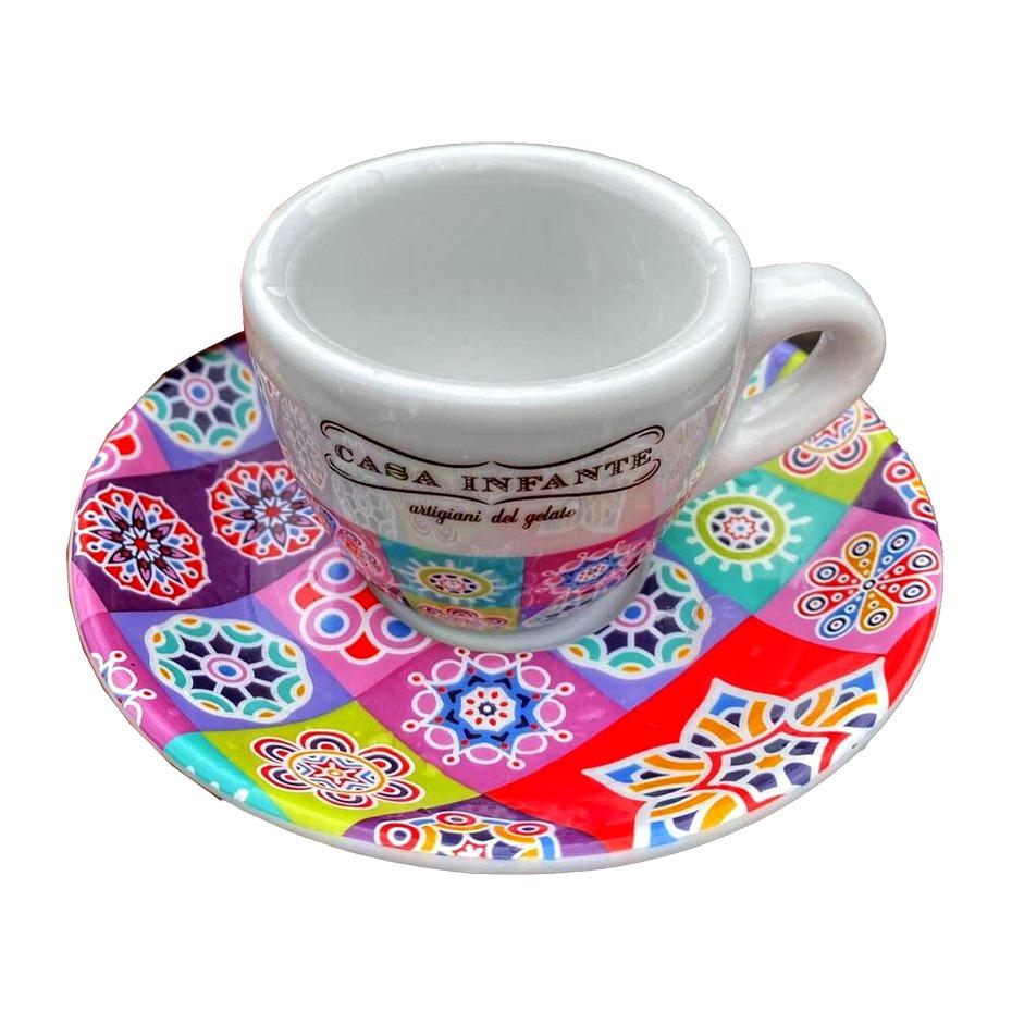 Coppia di tazzine da caffè