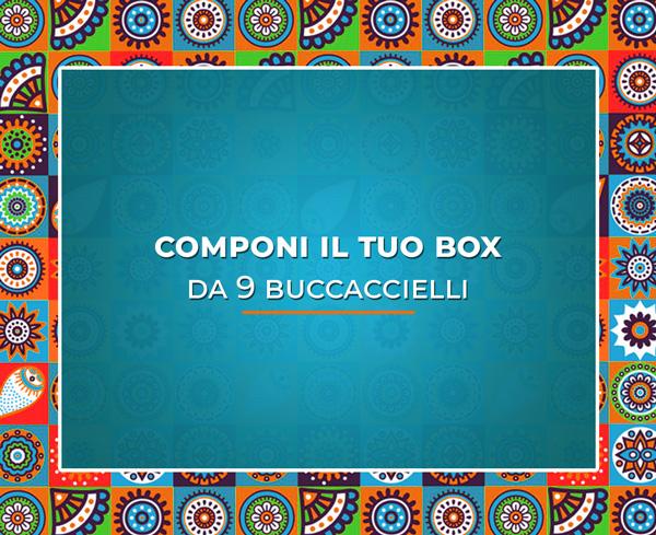 Casa Infante - Artigiani del gelato - Componi il box da 9 Buccaccielli